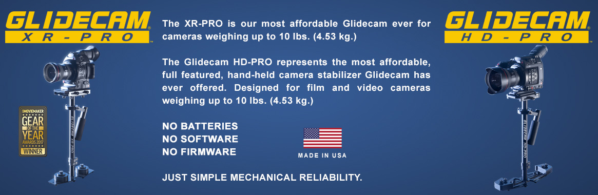 Glidecam Industries, Inc  - World Class Camera Stabilizers