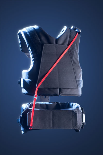 Glidecam X-45 Vest (Back View)