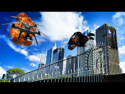 Mirror's Edge Parkour in REAL LIFE!