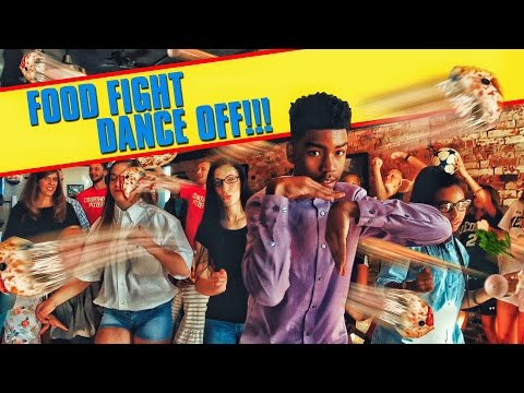 FOOD FIGHT DANCE OFF!!!