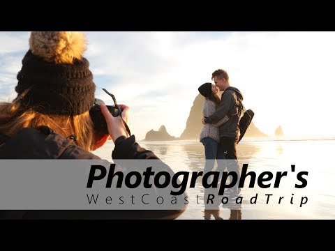Ultimate West Coast Photography Roadtrip Spots! in Cinema 4K